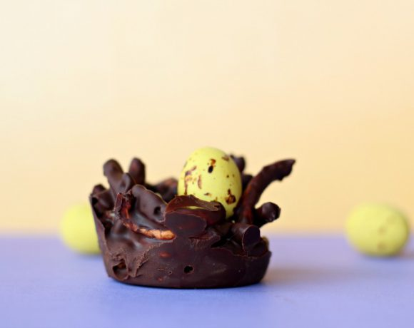 Sjokoladerede med påskeegg