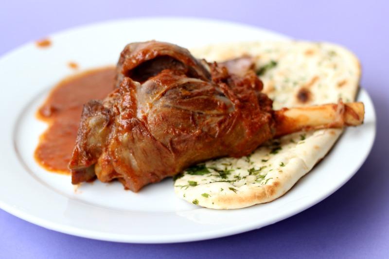 Rogan Josh. Chili marinated lamb from Kashmir.