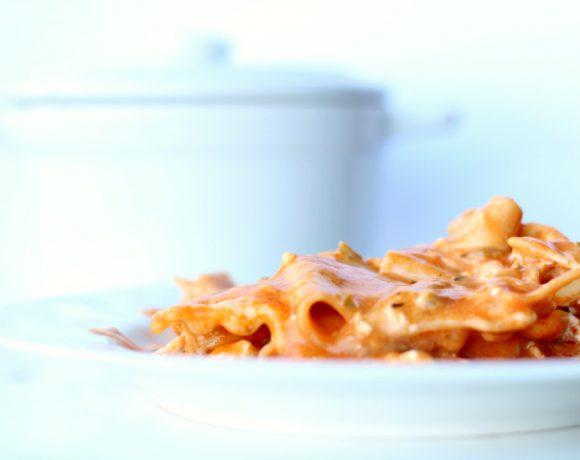 Jalapeño Popper lasagne