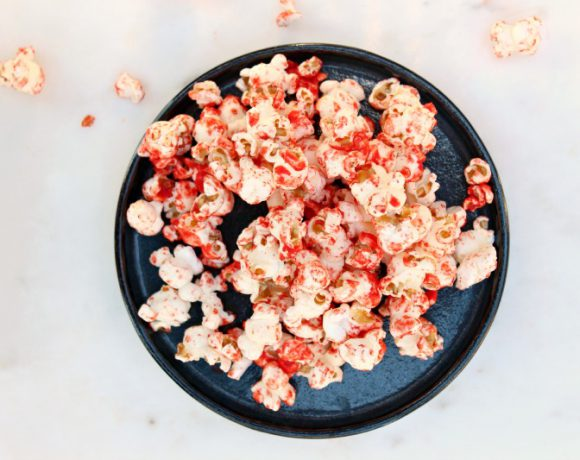 Blodig popcorn