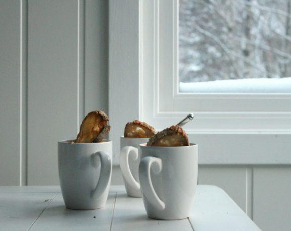 Tomatsuppe med toast og whiskeycheddar