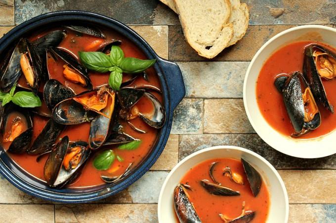 blåskjell-i-tomatsaus