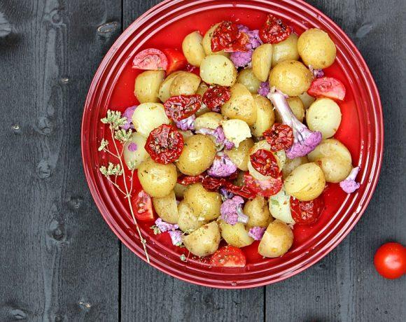 Potetsalat med smak av sommer