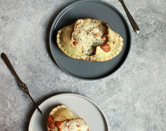 Ostegratinerte krabbeskjell