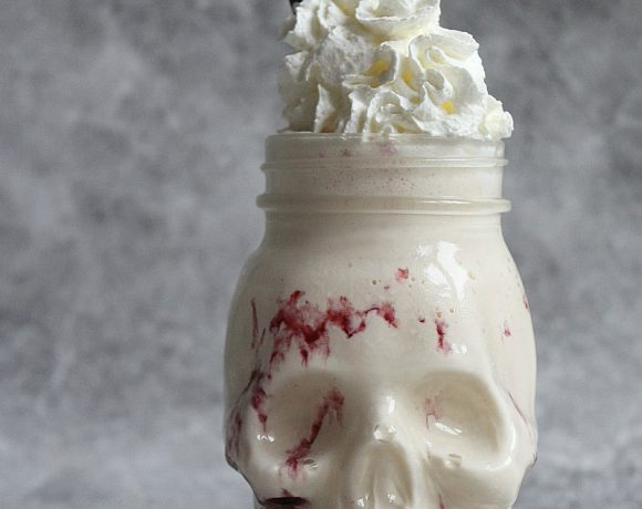 Blodig milkshake