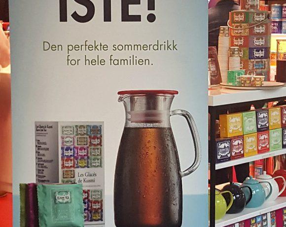 Kundekveld hos te-paradiset Kusmi Tea..