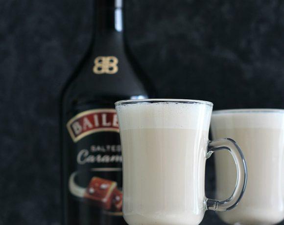 Iskaffe med Salted Caramel Baileys